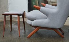 Svend Skipper Rare Pair Svend Skipper Restored Papa Bear Lounge Chairs Ottomans - 2061437