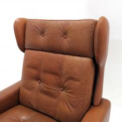 Svend Skipper Wingback Lounge Chair by Svend Skipper - 603409