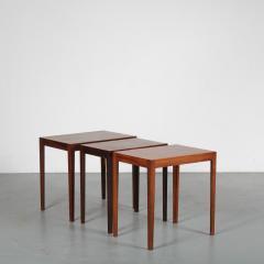 Svenn Eske Kristensen Nesting Tables for Pontoppidan Denmark 1960 - 1531798