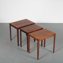 Svenn Eske Kristensen Nesting Tables for Pontoppidan Denmark 1960 - 1531800