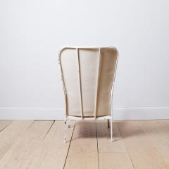 Swedish 1950s Iron and Leather Lounge Chair - 757078