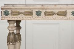 Swedish 19th Century Carved and Painted Console - 1806953