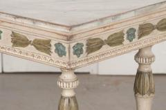 Swedish 19th Century Carved and Painted Console - 1806954