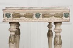 Swedish 19th Century Carved and Painted Console - 1806955