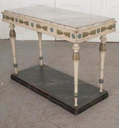 Swedish 19th Century Carved and Painted Console - 1806957