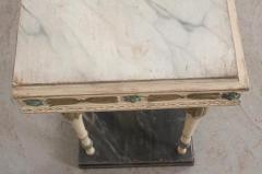 Swedish 19th Century Carved and Painted Console - 1806964
