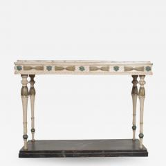 Swedish 19th Century Carved and Painted Console - 1815926
