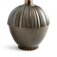 Swedish Art Deco Table Lamp with Textured Acorn Form - 1147694
