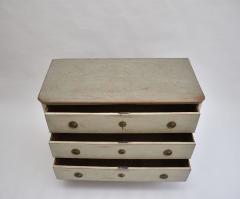 Swedish Gustavian oak chest of drawers - 1951487