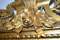 Swedish Gustavian style Carved and Gilded Mirror - 1989559
