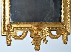 Swedish Gustavian style Carved and Gilded Mirror - 1989561