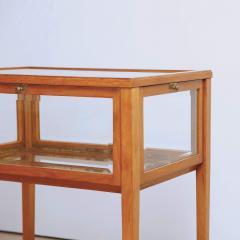 Swedish Mid Century Oak Vitrine Table - 1941387