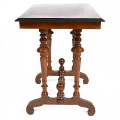 Swedish Rectangular Occasional Walnut Table Circa 1880 - 167805