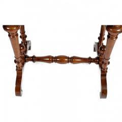 Swedish Rectangular Occasional Walnut Table Circa 1880 - 167806