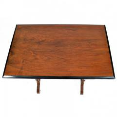 Swedish Rectangular Occasional Walnut Table Circa 1880 - 167809