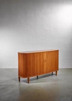 Swedish Sideboard with Tambour Doors 1940s - 1057580