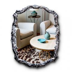 Swedish Silvered Neo Rococo Mirror - 1502730