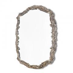 Swedish Silvered Neo Rococo Mirror - 1502734