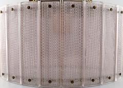 Swedish ceiling lamp art glass - 1339317