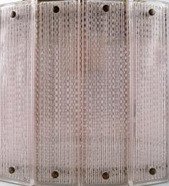 Swedish ceiling lamp art glass - 1339318