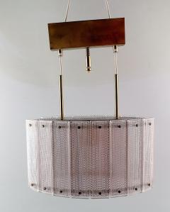 Swedish ceiling lamp art glass - 1339322