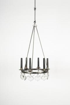 Swedish chandelier 60s - 1782781