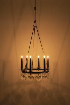 Swedish chandelier 60s - 1782810