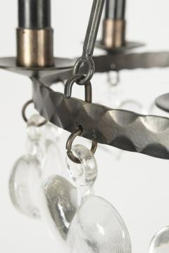 Swedish chandelier 60s - 1782814