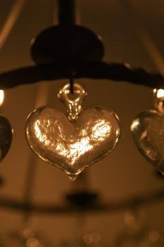 Swedish chandelier 60s - 1782830