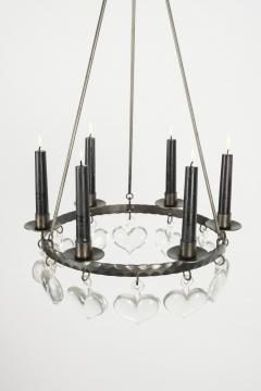 Swedish chandelier 60s - 1782859
