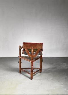 Swedish monk chair circa 1900 - 941751