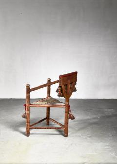 Swedish monk chair circa 1900 - 941754