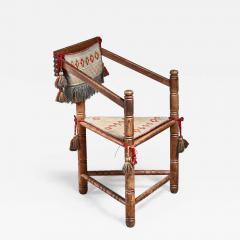 Swedish monk chair circa 1900 - 942075