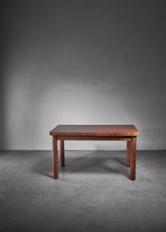 Swedish pine dining table and bench 1960s - 1225005