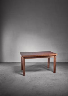 Swedish pine dining table and bench 1960s - 1225006