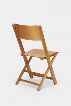 Swiss Birchwood Folding Chair 40 s - 1575808
