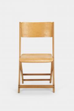 Swiss Birchwood Folding Chair 40 s - 1575810