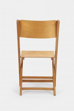 Swiss Birchwood Folding Chair 40 s - 1575812