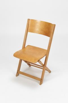 Swiss Birchwood Folding Chair 40 s - 1575816