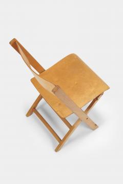 Swiss Birchwood Folding Chair 40 s - 1575824