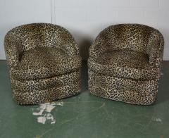 Swivel Tub Chairs by Henredon - 1101792