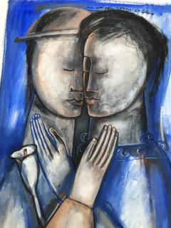 Sylvain Legrand Un Amour Rouge et Bleu - 1780367