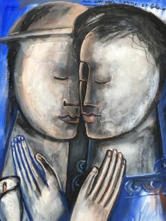 Sylvain Legrand Un Amour Rouge et Bleu - 1780369