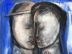 Sylvain Legrand Un Amour Rouge et Bleu - 1780371