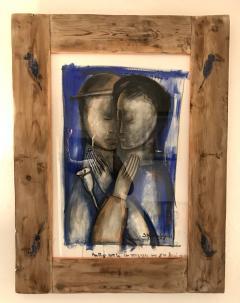 Sylvain Legrand Un Amour Rouge et Bleu - 1780372