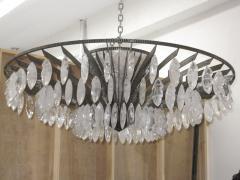 Sylvain Subervie Rock Crystal chandelier by Sylvain Subervie - 1901223