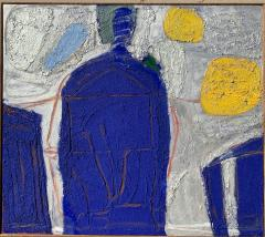 Sylvia Rutkoff Mexican Night 1950s Abstract Painting Female NYC Artist Brooklyn Museum - 1465619