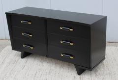 T H Robsjohn Gibbings 1950s 6 Drawer Modernist Dresser - 1555043