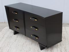 T H Robsjohn Gibbings 1950s 6 Drawer Modernist Dresser - 1555044