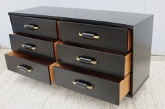 T H Robsjohn Gibbings 1950s 6 Drawer Modernist Dresser - 1555047